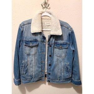 Denim / wool jacket.